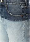 Beli Garni Detaylı Boru Paça Jean Pantolon