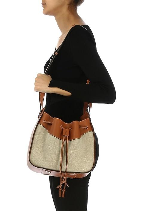 Hammock Medium Garnili Kadın Deri Büzgülü Çanta
