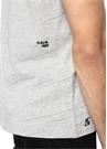 Save Me Nakışlı Gri Melanj Çizgi Detaylı T-shirt