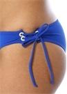 Marcia Mavi Yanları Bağcıklı Bikini Altı