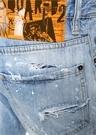 Twist Mavi Yıpratmalı Jean Pantolon