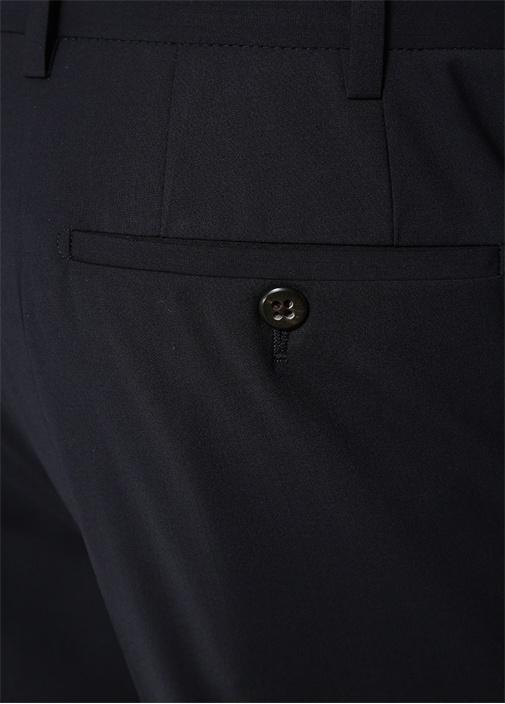 Drop 7 Lacivert Yün Pantolon