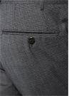 Drop 7 Gri Mikro Desenli Yün Pantolon
