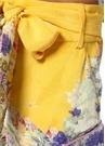 Mellow Muse Sarı Beli Kuşaklı İpek Şort