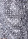 Mavi Kahverengi Mikro Geometrik DesenliMayo