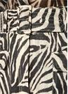 Corsage Safari Zebra Desen Kemerli MiniKeten Etek