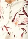Corsage Bauble Beyaz Çiçekli Mini KetenEtek