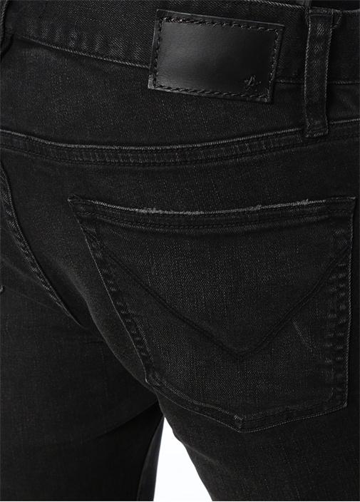 Matchstick Siyah Normal Bel Jean Pantolon
