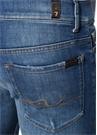 Ronnie Skinny Fit Mavi Yıpratmalı Jean Pantolon