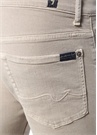 Ronnie Skinny Fit Bej Jean Pantolon