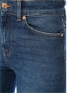 Slim Illusion Cropped Boot Unrolled Jean Pantolon