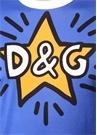 Mavi Logo Baskılı T-shirt
