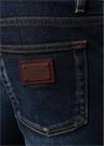 Skinny Fit Lacivert Normal Bel Jean Pantolon