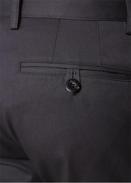 Slim Fit Gri Normal Bel Pantolon