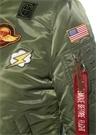 MA1 VF Haki Dik Yaka Patchli Bomber Ceket