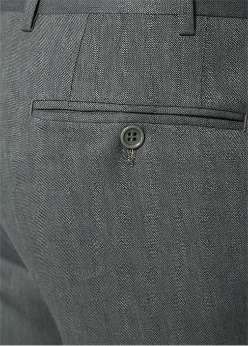 Yeşil Keten Pantolon