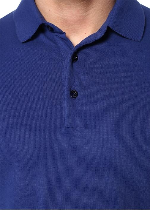 Lacivert Polo Yaka T-shirt