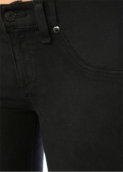 Maternity Siyah Yıpratmalı Skinny Jean Pantolon