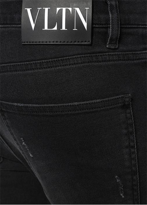 Skinny Fit Siyah Normal Bel Jean Pantolon