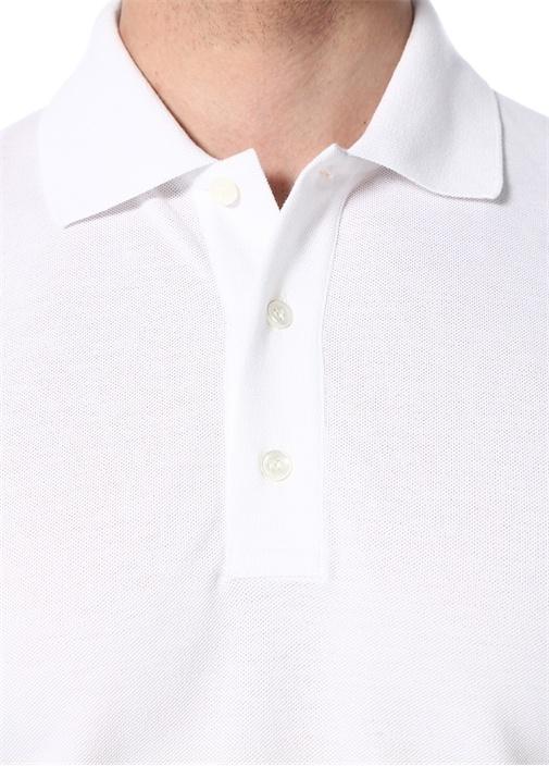 Rockstud 16 Beyaz Polo Yaka T-shirt