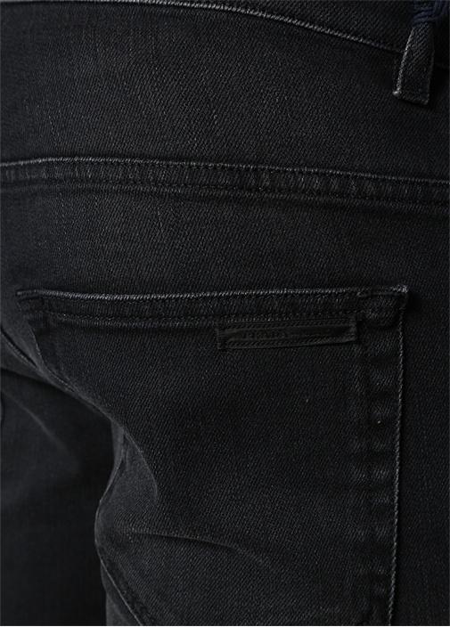 Antrasit Normal Bel Dar Paça Jean Pantolon