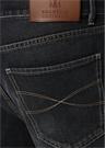 Traditional Fit Lacivert Dar Paça Jean Pantolon