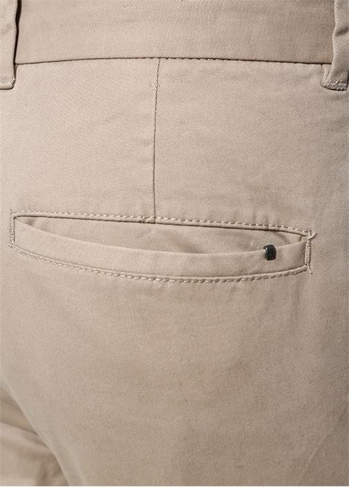 Slim Fit Felix Bej Normal Bel Pantolon