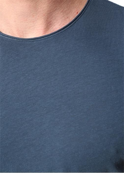 Mavi Bisiklet Yaka T-shirt