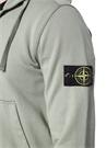 Yeşil Kapüşonlu Logo Detaylı Sweatshirt