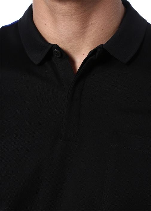 Regular Fit Lacivert Siyah Polo Yaka T-shirt