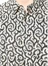 Iggy Ekru Siyah Desenli İngiliz Yaka Gömlek