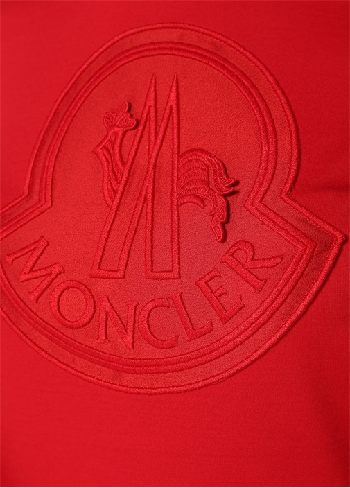 Kırmızı Logolu Basic T-shirt