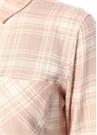 Milo Pembe Beyaz Ekose Desenli Gömlek