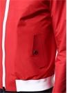 Jose Kırmızı Kapüşonlu Şerit Detaylı Mont