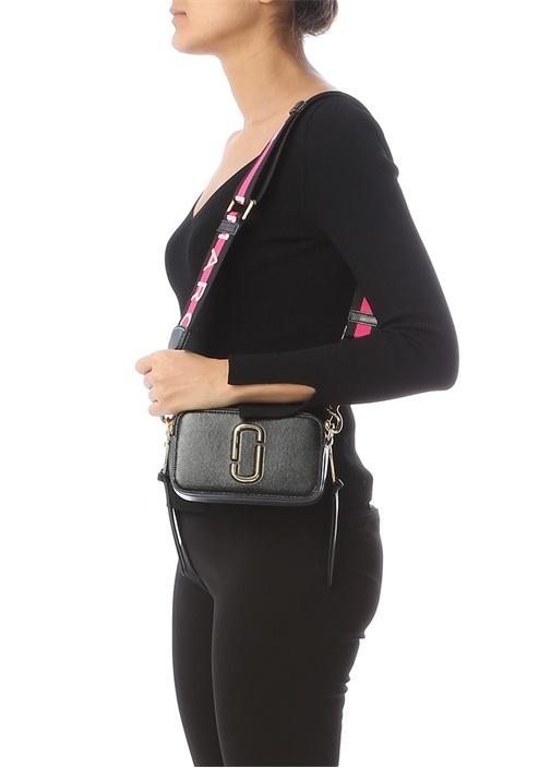 Snapshot Small Siyah Kadın Deri Çanta