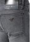 Slim Fit Gri Normal Bel Dar Paça Jean Pantolon