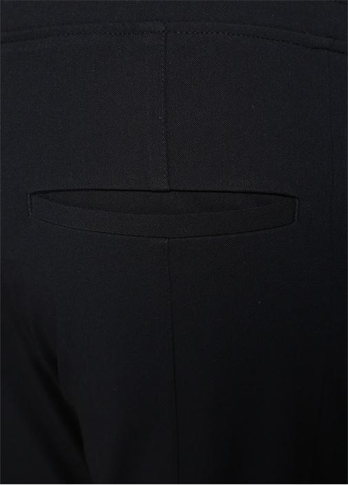 Siyah Kanvas Jogger Pantolon