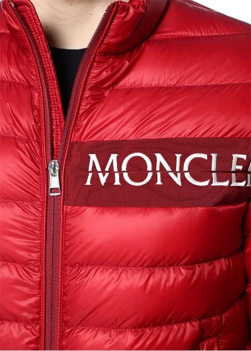 Neveu Kırmızı Logo Şeritli Puff Mont