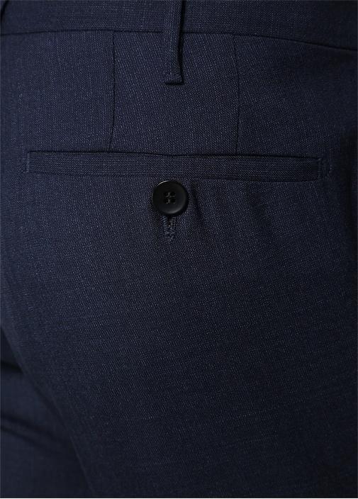 Lacivert Normal Bel Yün Pantolon