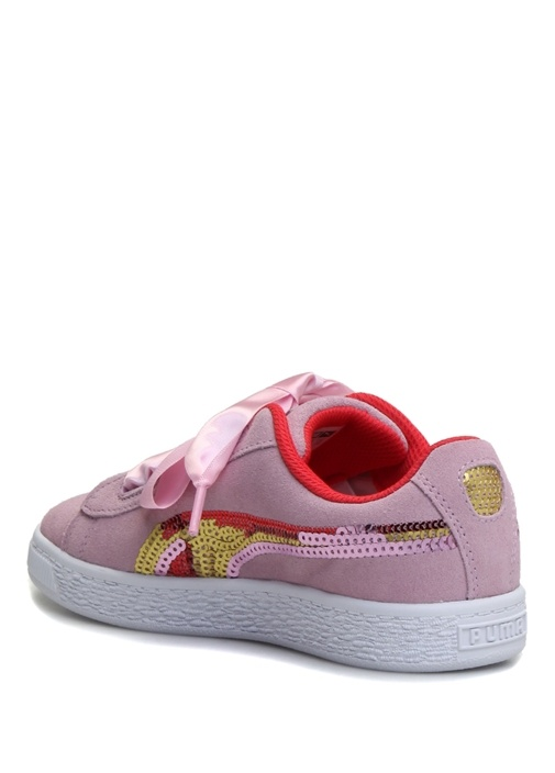 Suede Heart Trailblazer Sqn Kız Çocuk Sneaker