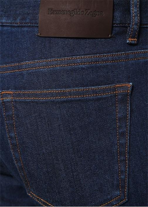 Tailored Fit Lacivert Normal Bel Jean Pantolon