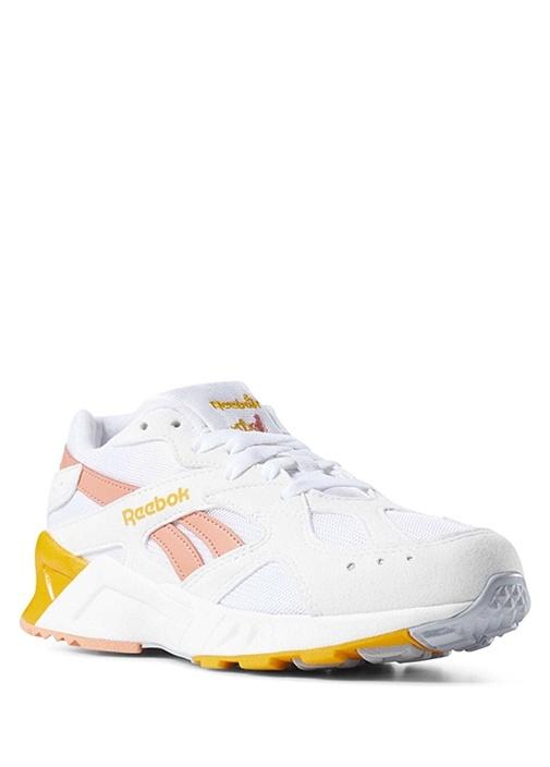 Aztrek Beyaz Turuncu Kadın Sneaker