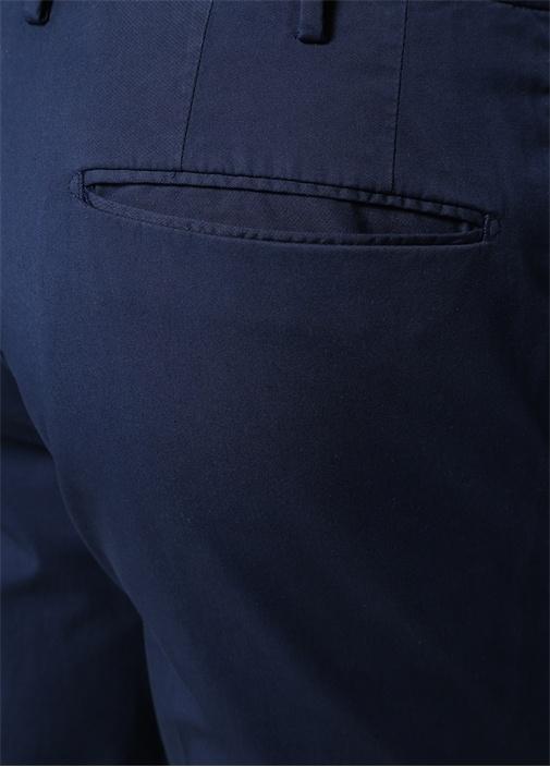 Slim Fit Lacivert Normal Bel Pantolon