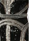 Siyah Silver İşlemeli Midi Tül Kokteyl Elbise