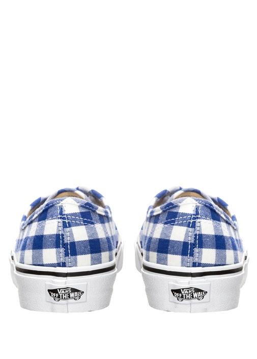 Gingam Authentic Mavi Beyaz Kadın Sneaker