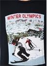 Lacivert Dokulu Olimpiyat Jakarlı Kazak