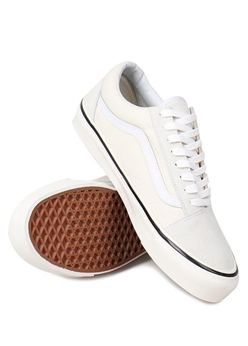 Old Skool Beyaz Logolu Erkek Sneaker