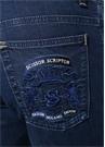 Augusto Lacivert Düşük Bel Jean Pantolon