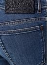 Augusto Mavi Düşük Bel Jean Pantolon