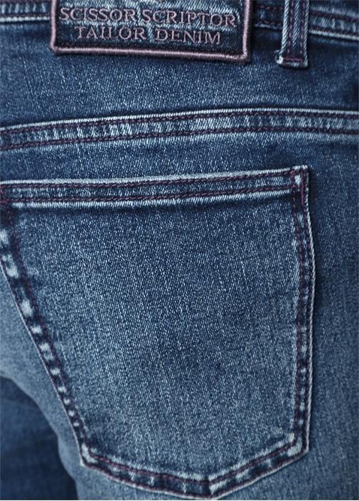 Augusto Mavi Normal Bel Jean Pantolon